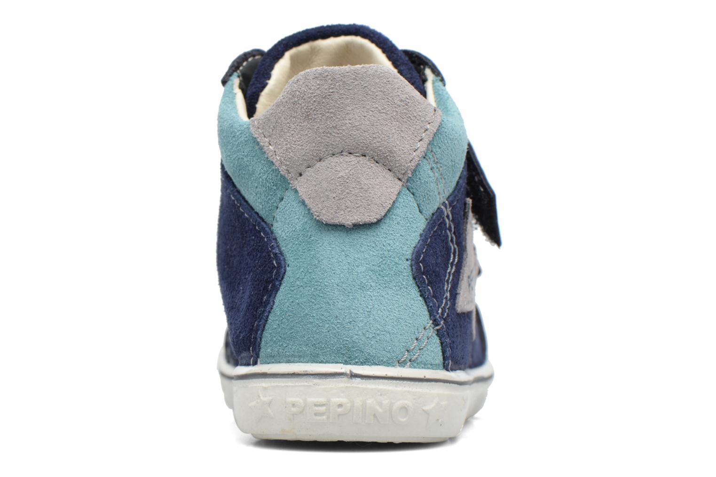 Sneaker PEPINO Kimo blau ansicht von rechts