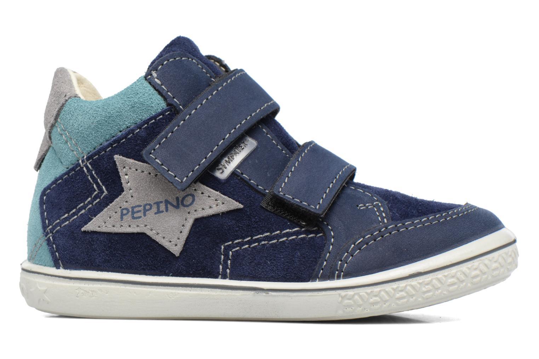 Sneaker PEPINO Kimo blau ansicht von hinten