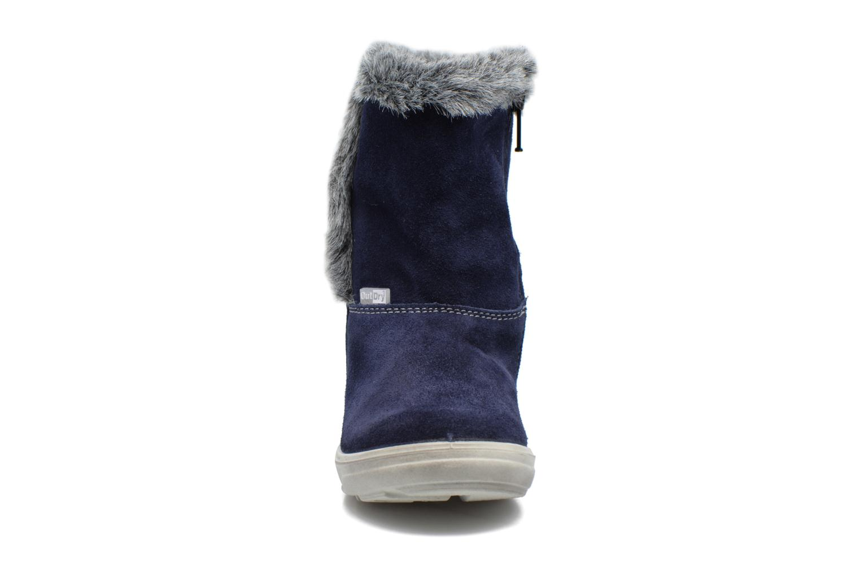Bottes PEPINO Usky Bleu vue portées chaussures