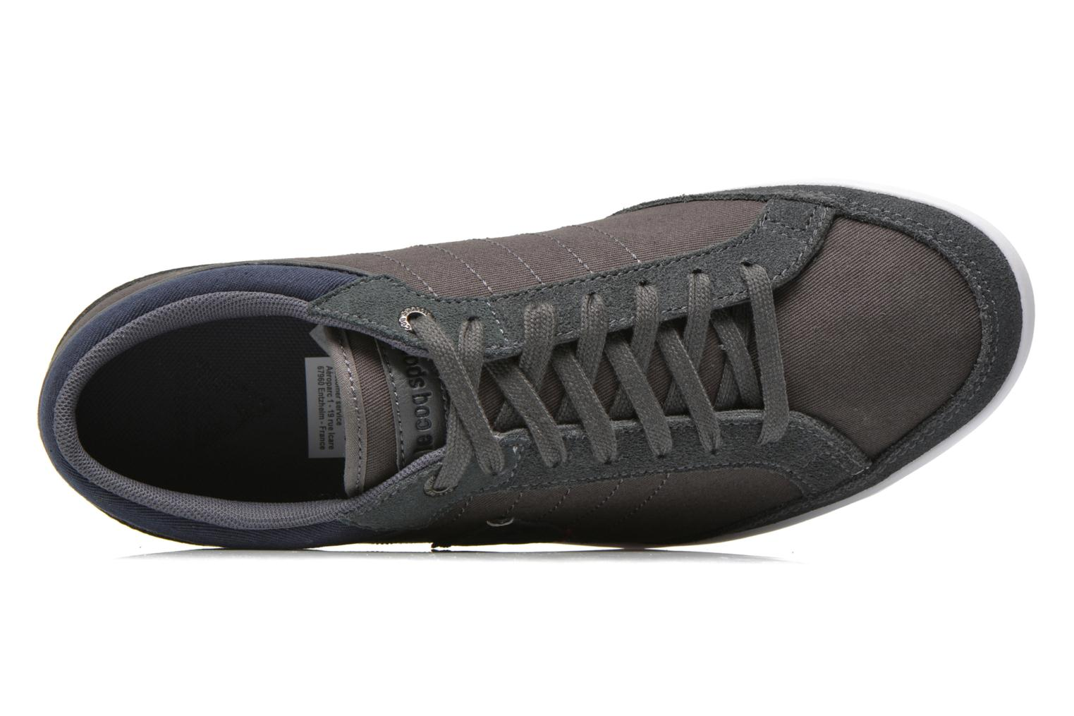 Trainers Le Coq Sportif Feretcraft Twill Cvs Grey view from the left