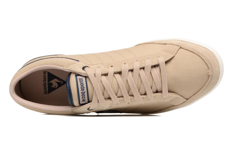 Sneakers Le Coq Sportif Feretcraft Twill Cvs Beige immagine sinistra