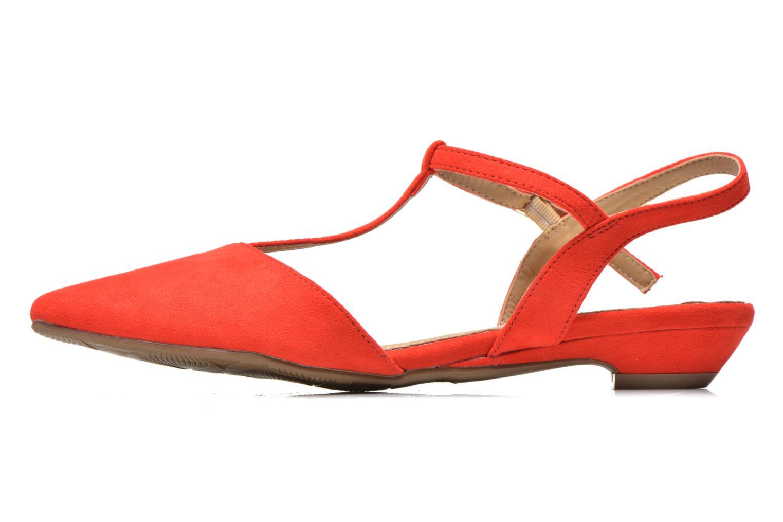 Sandales et nu-pieds Xti Mayotte 30101 Rouge vue face