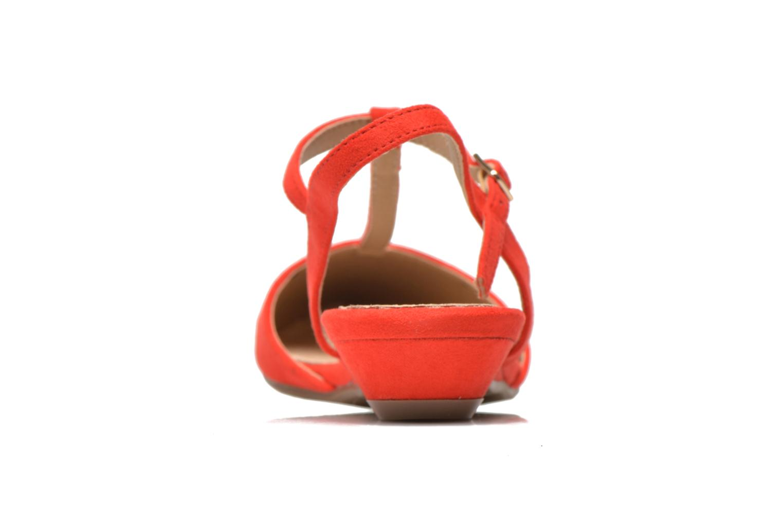 Sandales et nu-pieds Xti Mayotte 30101 Rouge vue droite
