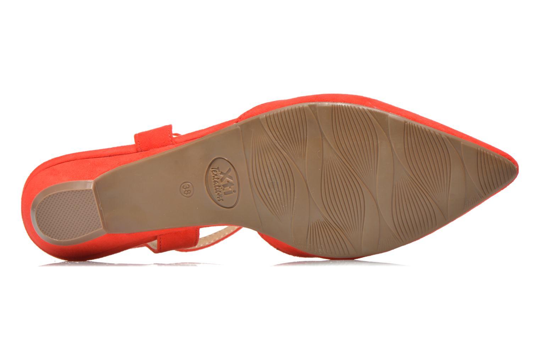 Sandales et nu-pieds Xti Mayotte 30101 Rouge vue haut