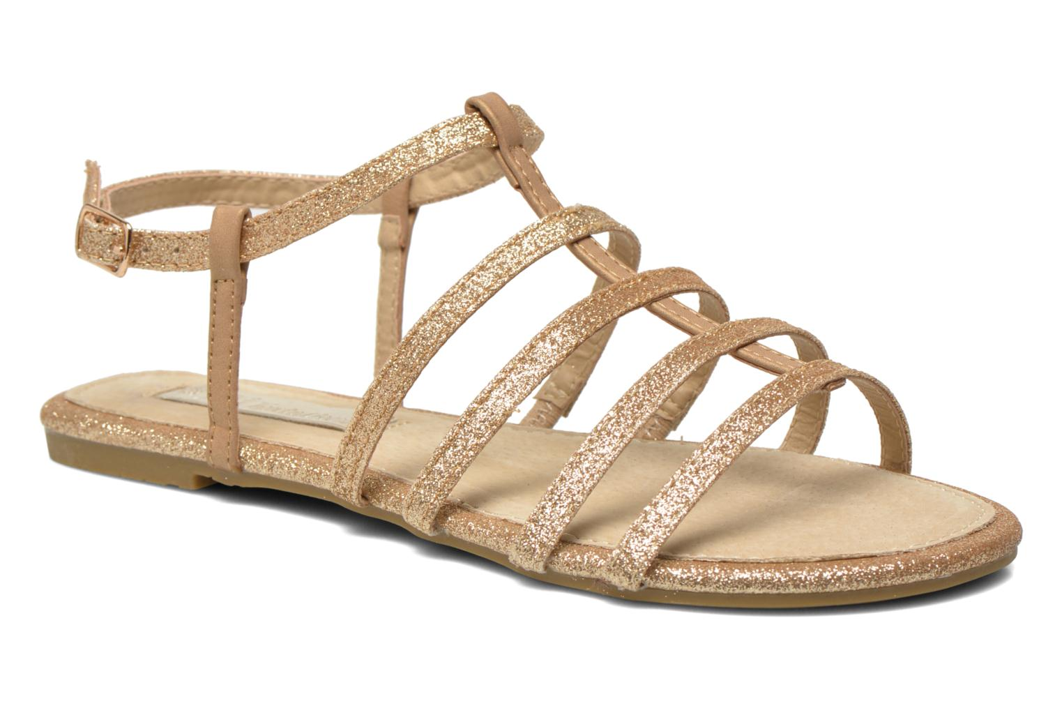 Marques Chaussure femme Xti femme Dominicana 30160 Gold
