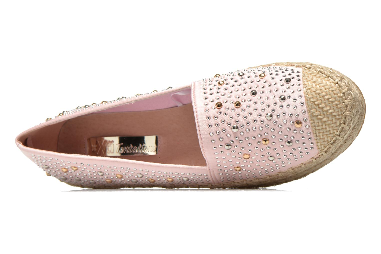 Espadrilles Xti Yaelle 30164 Pink view from the left