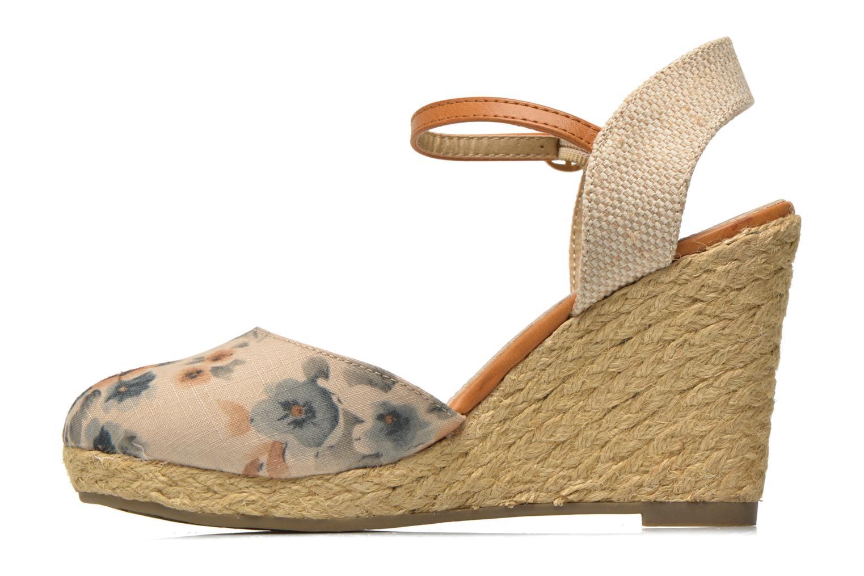 Sandales et nu-pieds Xti Seeland 45873 Marron vue face