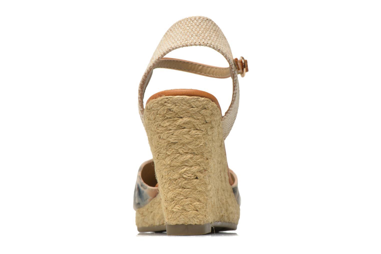 Sandales et nu-pieds Xti Seeland 45873 Marron vue droite
