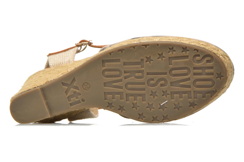 Sandales et nu-pieds Xti Seeland 45873 Marron vue haut