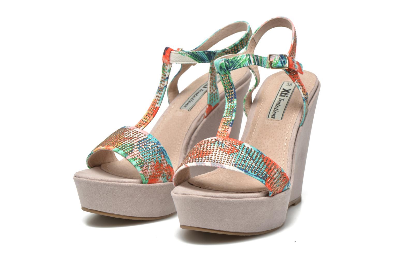 Sandals Xti Antigua 29715 Multicolor 3/4 view