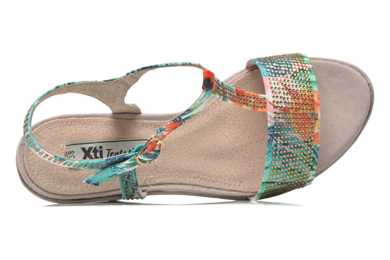 Sandalias Xti Antigua 29715 Multicolor vista lateral izquierda