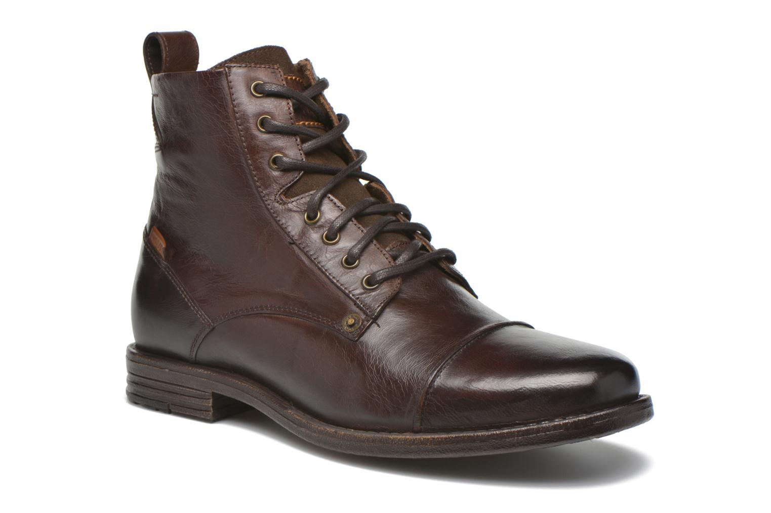 Levi's® EMERSON - Lace-up boots - brown