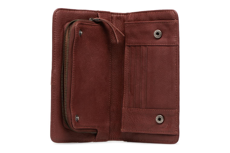 Portemonnaies & Clutches Nat & Nin Talia weinrot ansicht von hinten