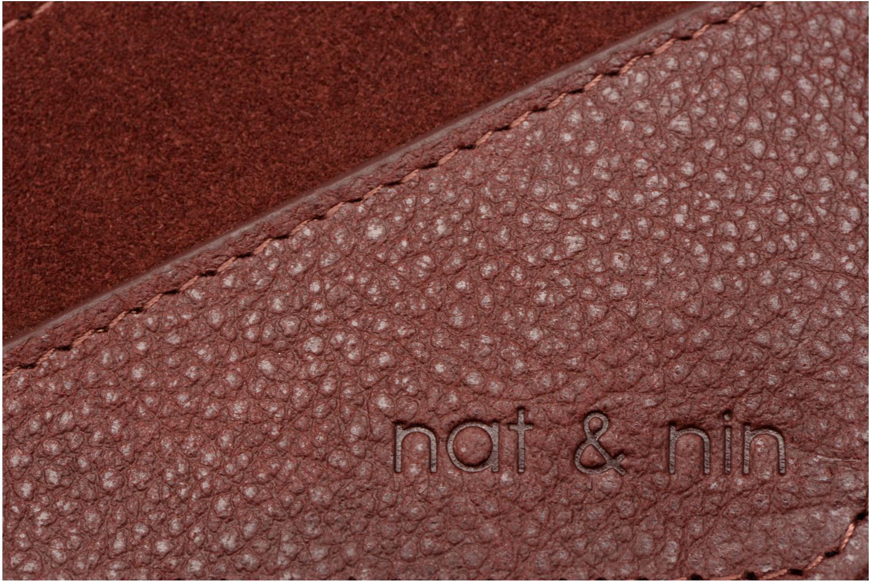 Portemonnaies & Clutches Nat & Nin Talia weinrot ansicht von links