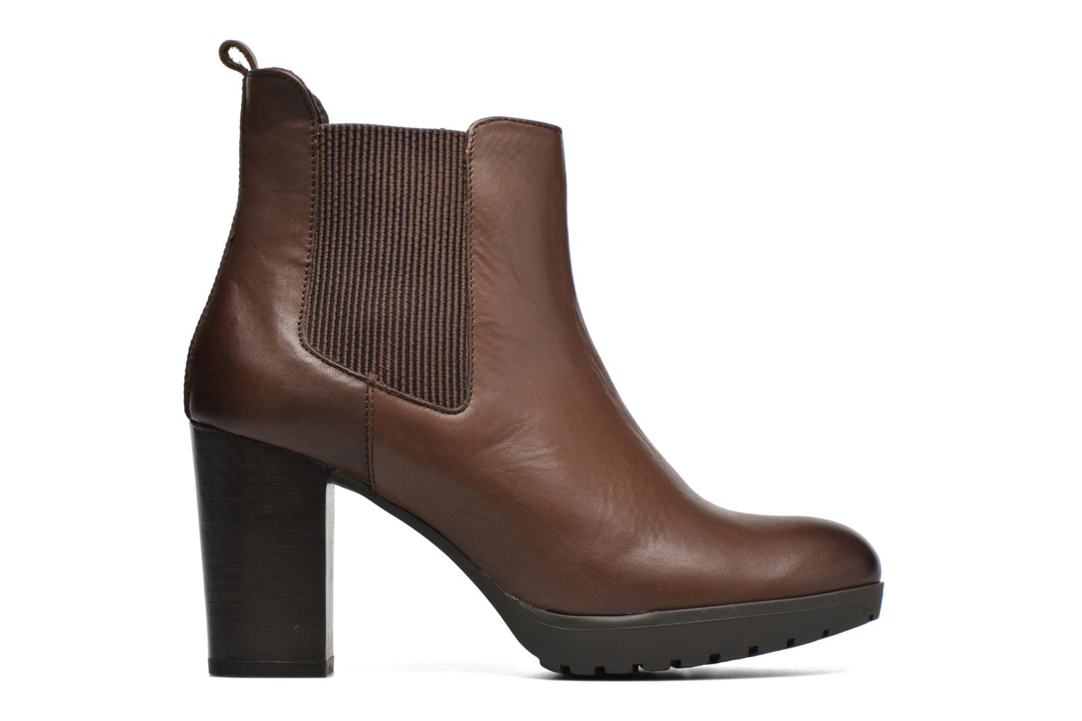 Ankle boots Georgia Rose Anateau Brown back view