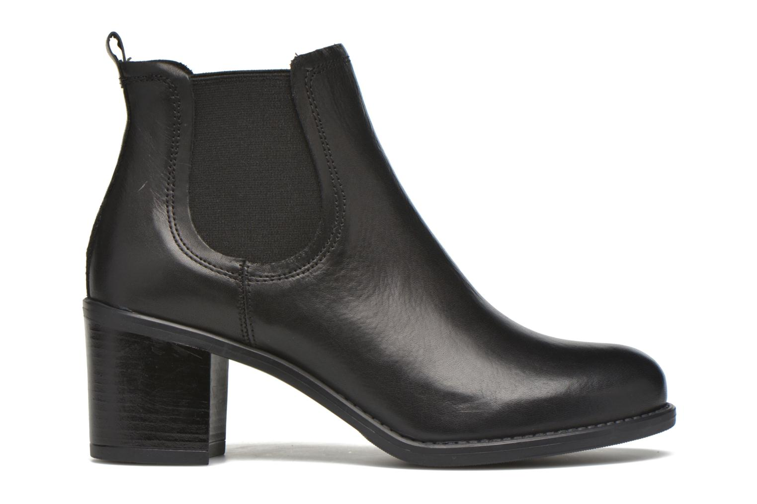 Ankle boots Georgia Rose Analla Black back view