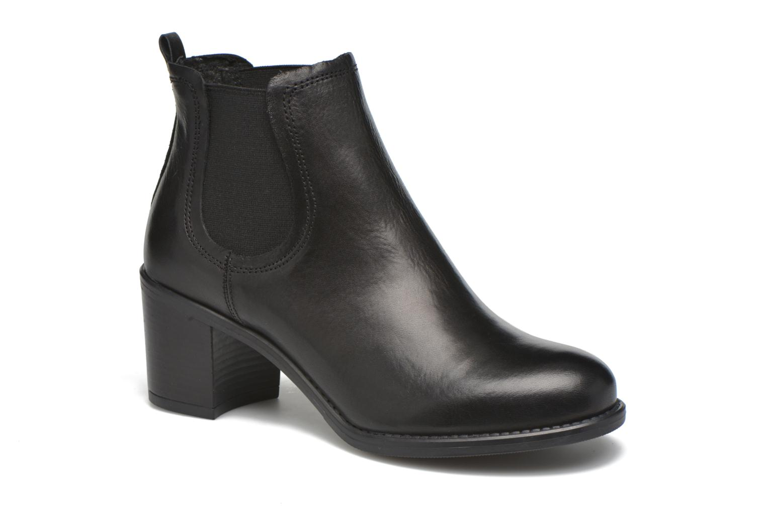 Ankle boots Georgia Rose Analla Black detailed view/ Pair view