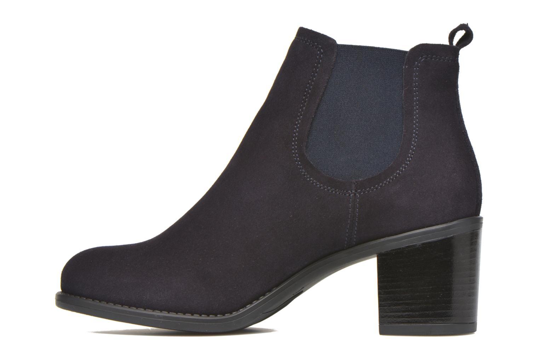 Bottines et boots Georgia Rose Analla Bleu vue face