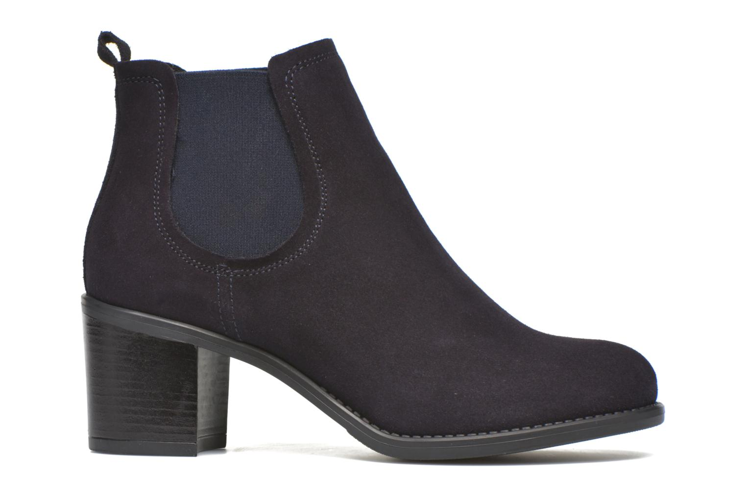 Ankle boots Georgia Rose Analla Blue back view