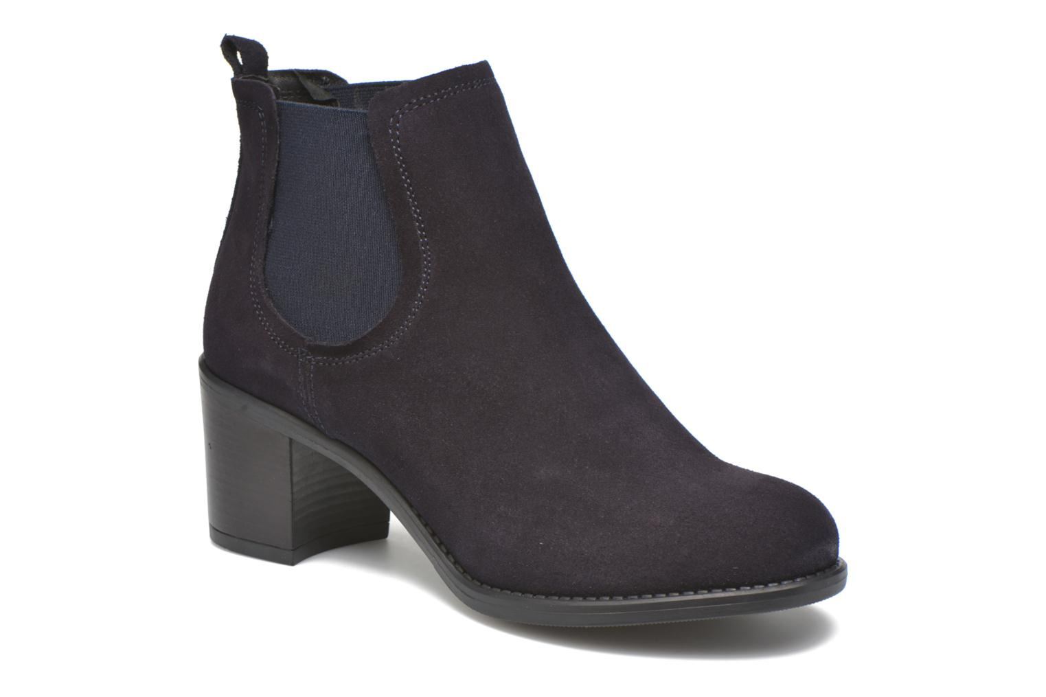 Ankle boots Georgia Rose Analla Blue detailed view/ Pair view