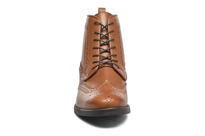 Bottines et boots Georgia Rose Anglais Marron vue portées chaussures