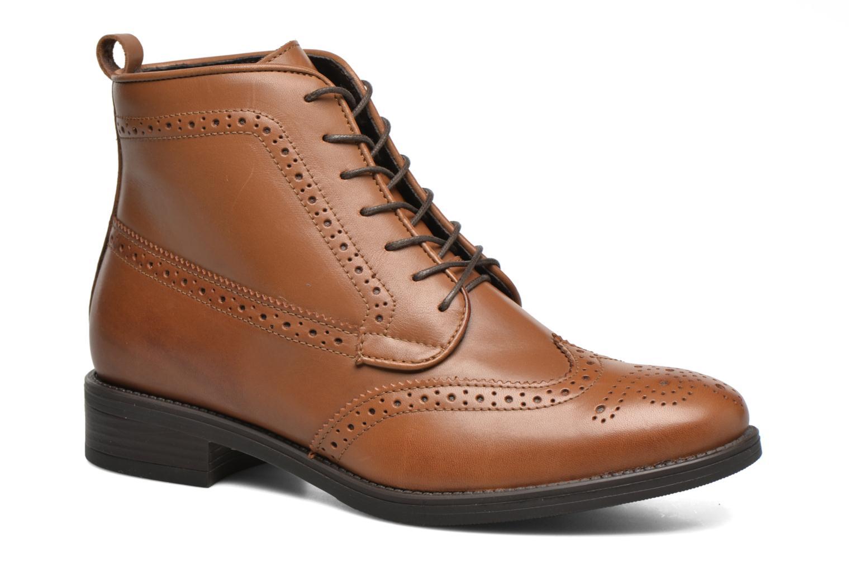 Bottines et boots Georgia Rose Anglais Marron vue détail/paire