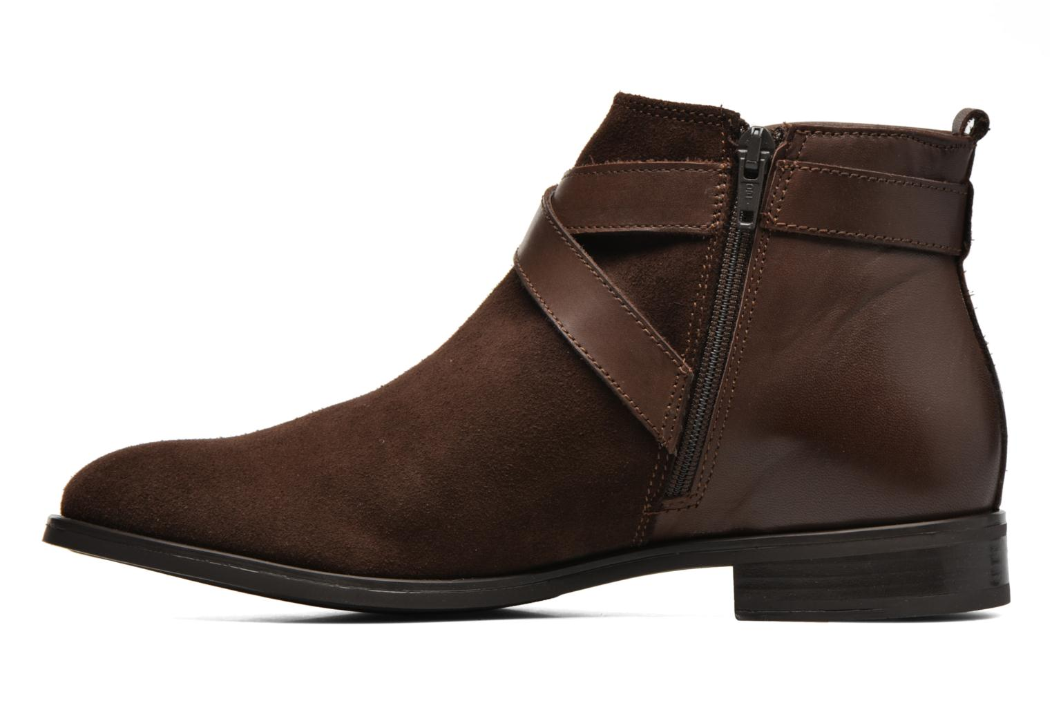 Ankle boots Georgia Rose Anoucle Brown front view