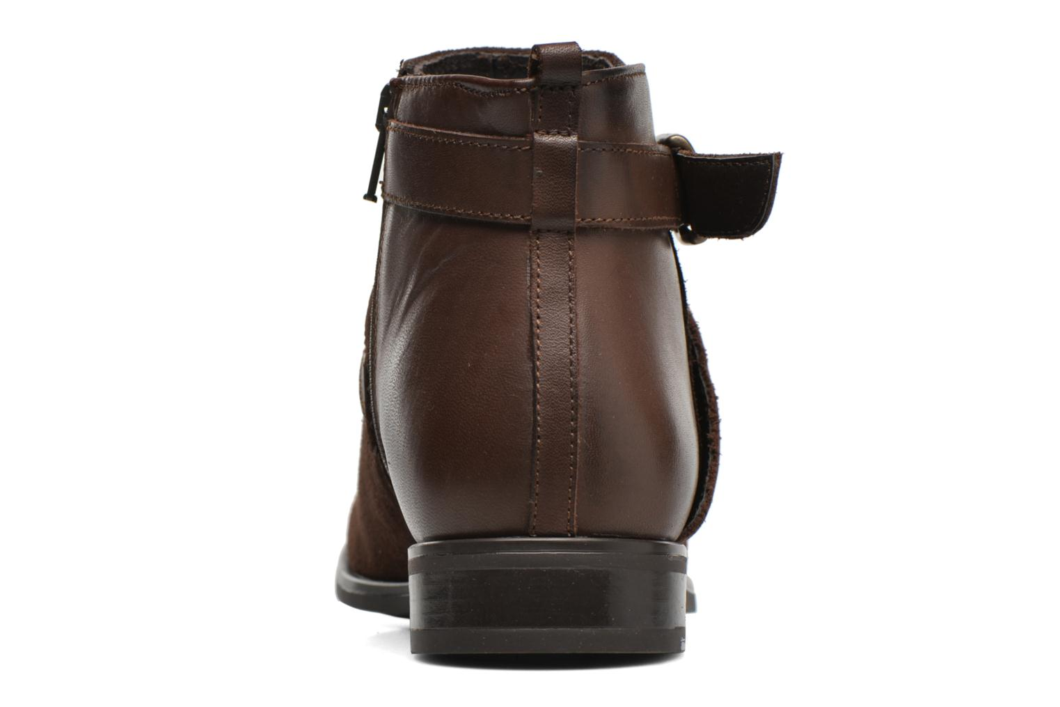 Ankle boots Georgia Rose Anoucle Brown view from the right