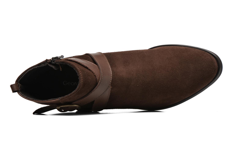 Bottines et boots Georgia Rose Anoucle Marron vue gauche