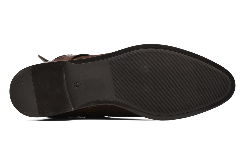 Stiefeletten & Boots Georgia Rose Anoucle braun ansicht von oben