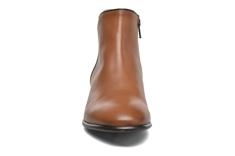 Bottines et boots Georgia Rose Anouping Marron vue portées chaussures