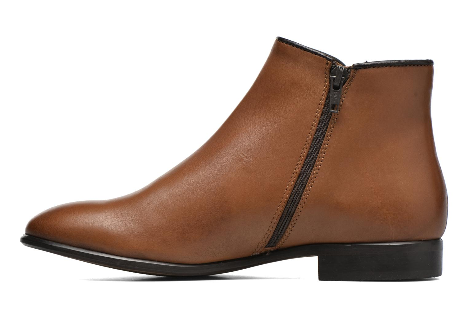 Ankle boots Georgia Rose Anouping Brown front view