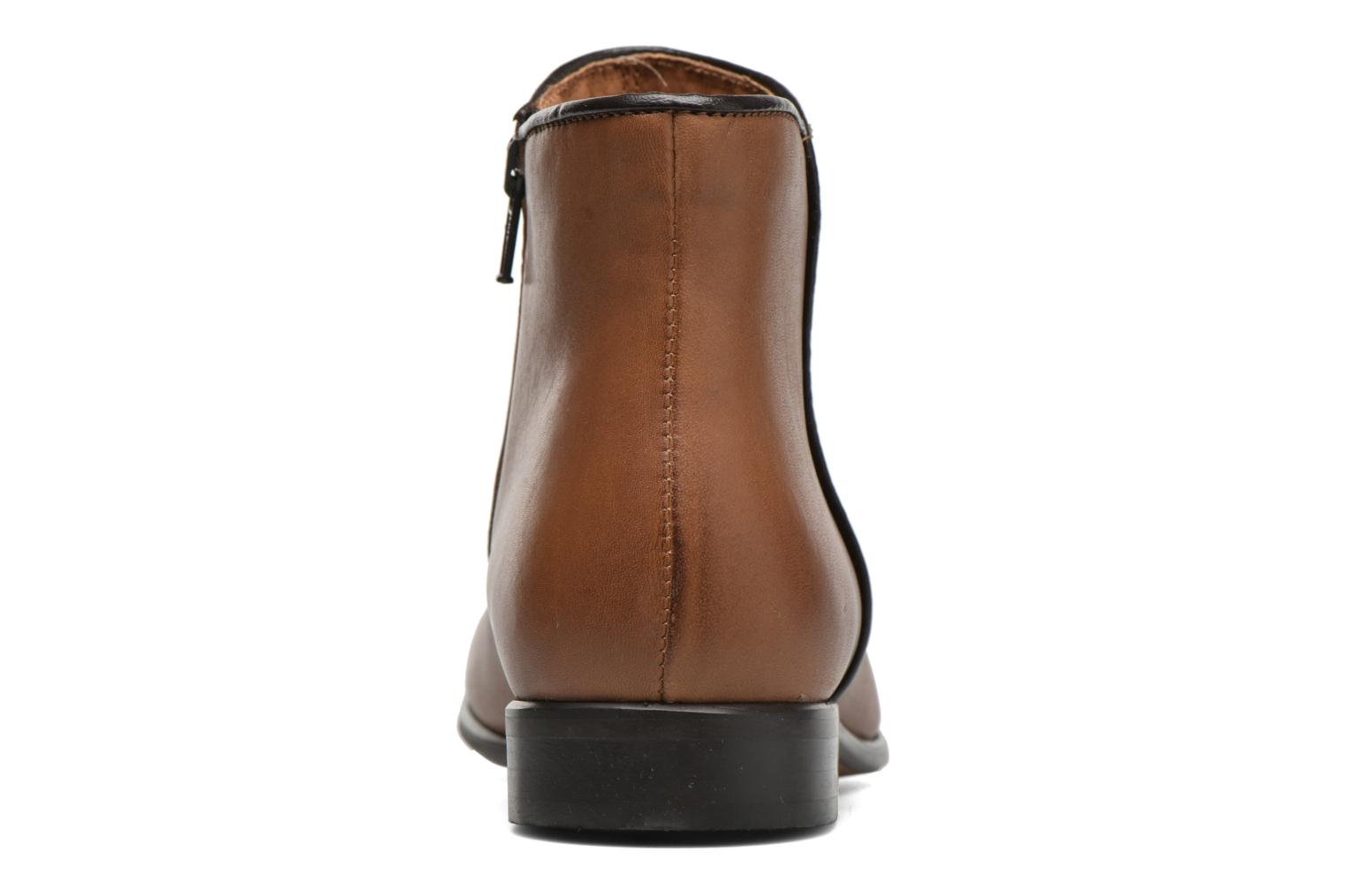 Ankle boots Georgia Rose Anouping Brown view from the right