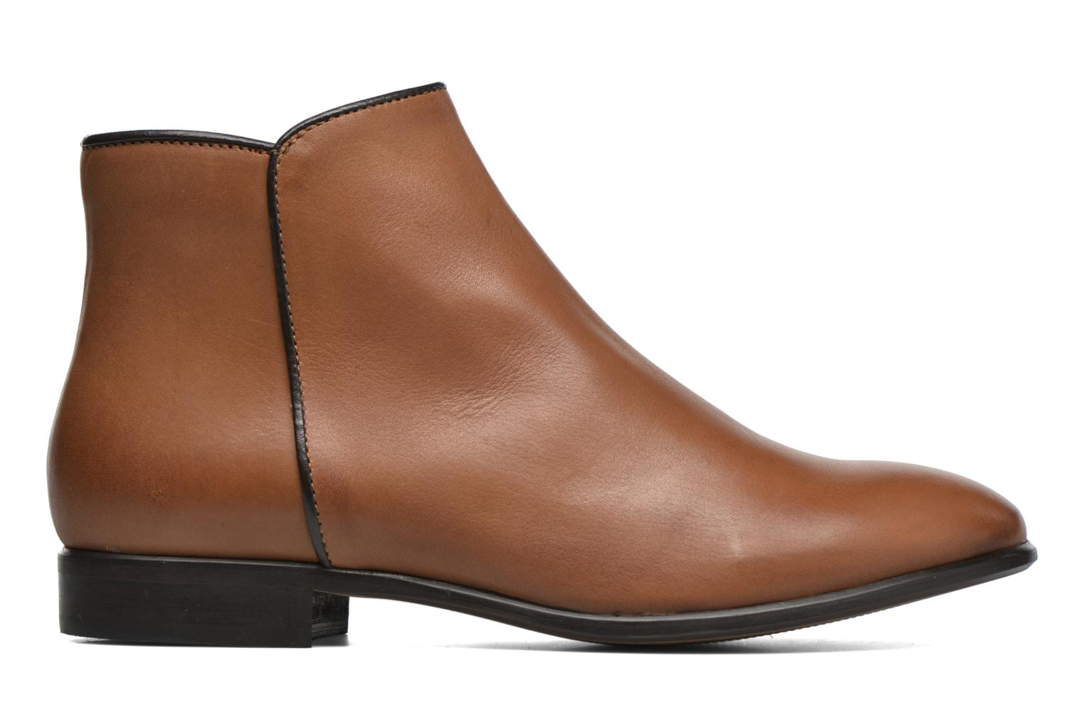 Ankle boots Georgia Rose Anouping Brown back view