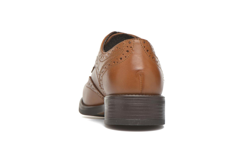 Chaussures à lacets Georgia Rose Anglish Marron vue droite