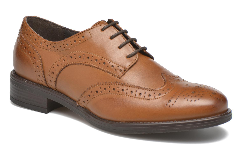 Chaussures à lacets Georgia Rose Anglish Marron vue détail/paire