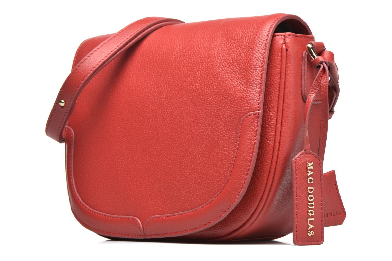 Handtaschen Mac Douglas PARURE Darby M Porté travers rot schuhe getragen