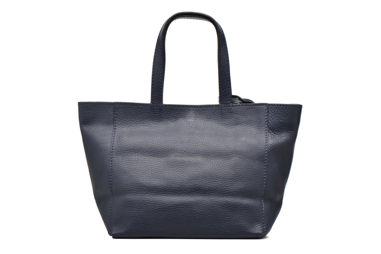 Handtaschen Loxwood CABAS PARISIEN S Cuir grainé blau ansicht von vorne