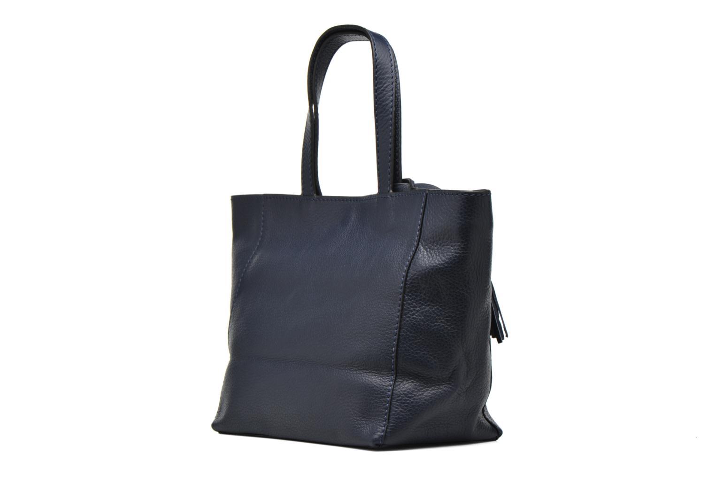Handtaschen Loxwood CABAS PARISIEN S Cuir grainé blau ansicht von rechts