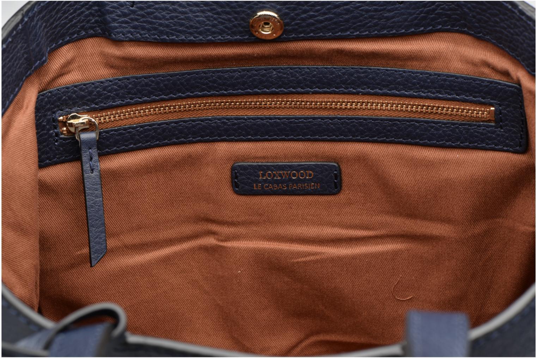 Handtaschen Loxwood CABAS PARISIEN S Cuir grainé blau ansicht von hinten