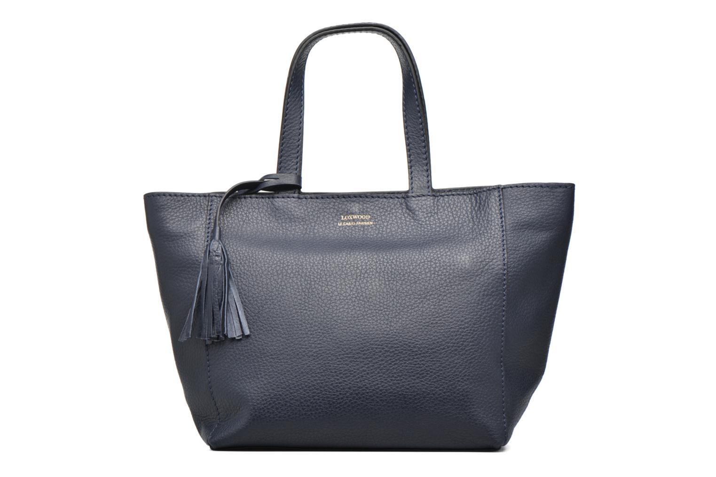 Handtaschen Loxwood CABAS PARISIEN S Cuir grainé blau detaillierte ansicht/modell