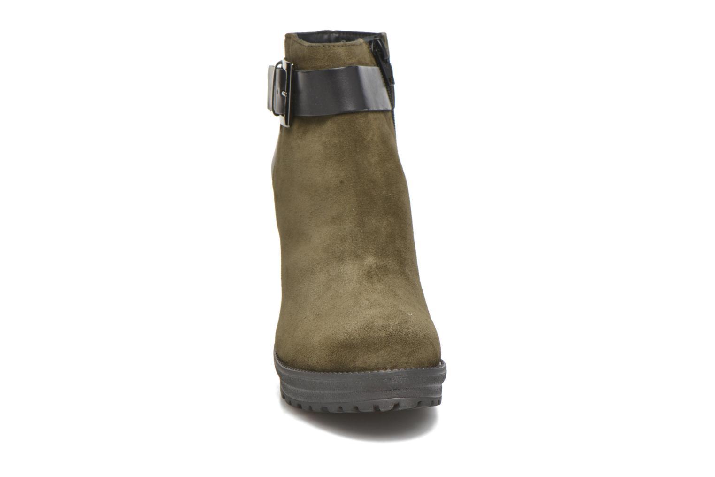 Bottines et boots Georgia Rose Jalape Vert vue portées chaussures