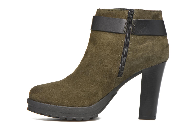 Bottines et boots Georgia Rose Jalape Vert vue face