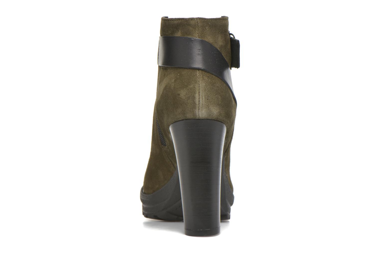 Bottines et boots Georgia Rose Jalape Vert vue droite