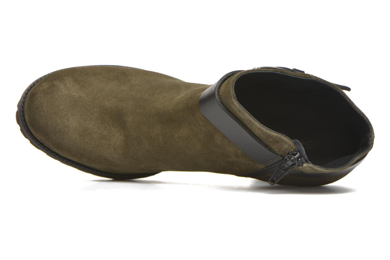 Bottines et boots Georgia Rose Jalape Vert vue gauche