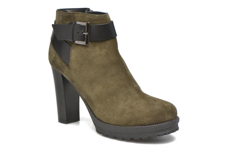 Bottines et boots Georgia Rose Jalape Vert vue détail/paire