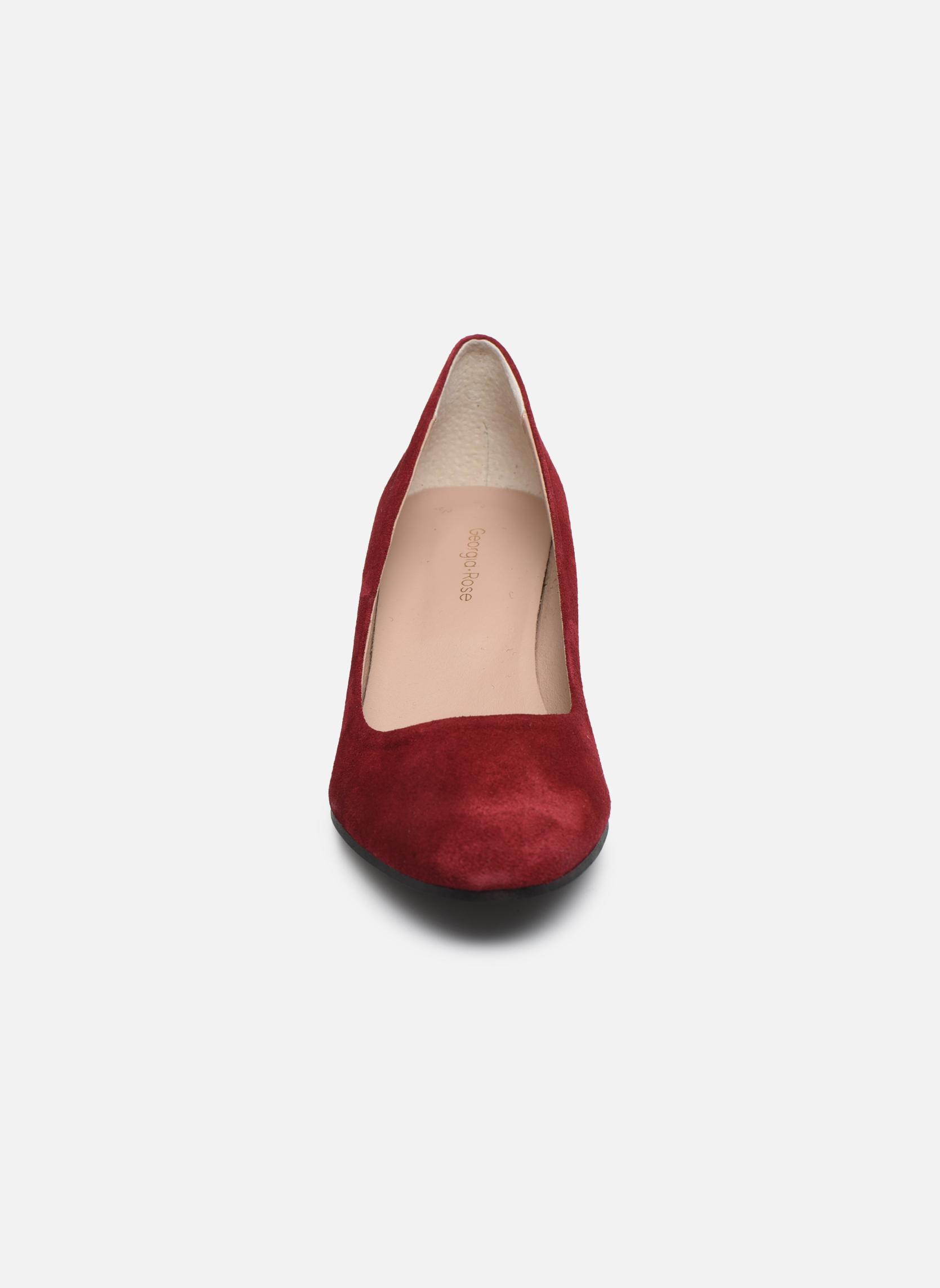 High heels Georgia Rose Jalerba Burgundy model view
