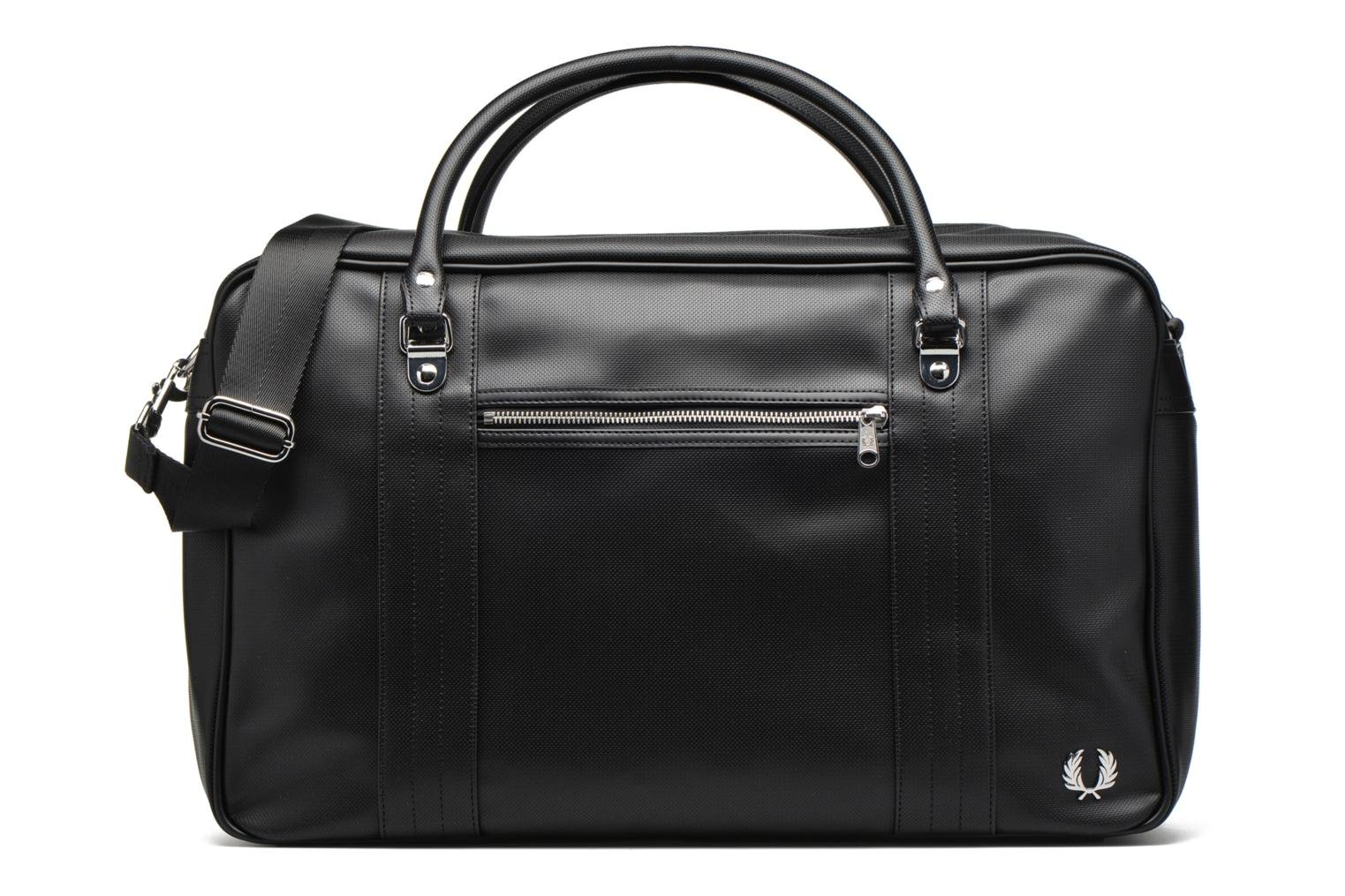 Bagage Fred Perry Piqué overnight bag Zwart detail