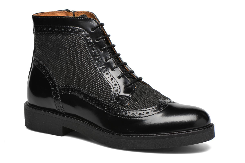 Stiefeletten & Boots Georgia Rose Ninog schwarz detaillierte ansicht/modell