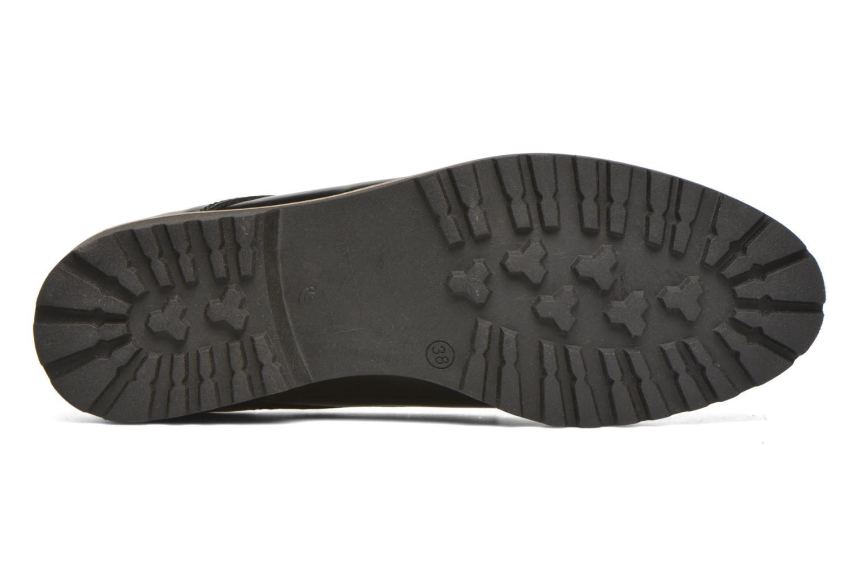 Zapatos con cordones Georgia Rose Nicran Negro vista de arriba